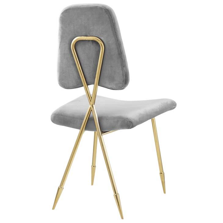 stratus gold velvet chair gray 3