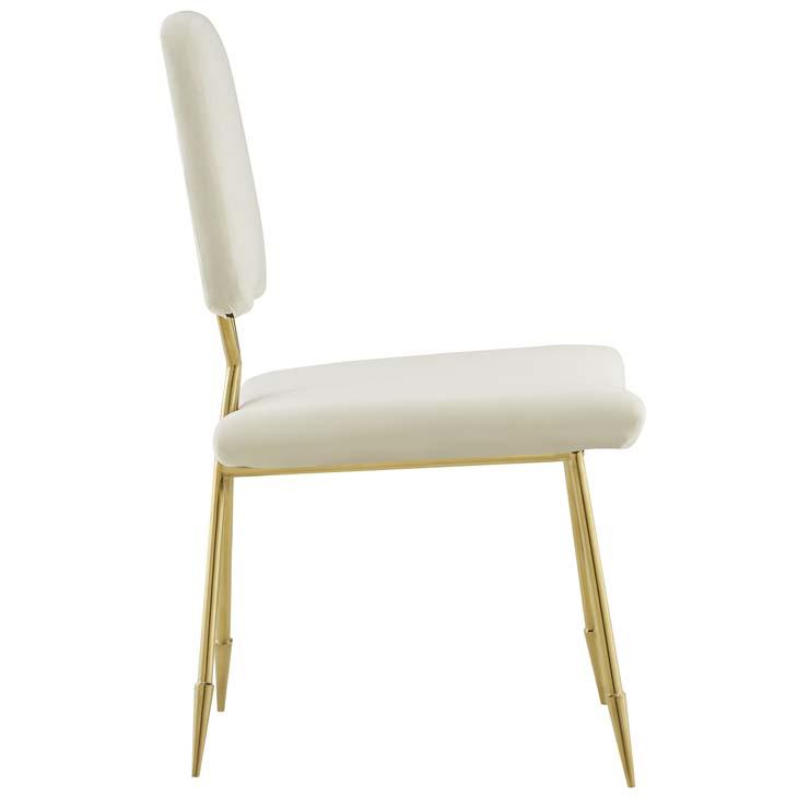 stratus gold velvet chair white 2