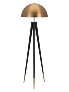 Jema Gold Dome Floor Lamp