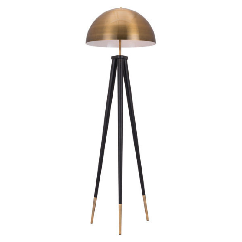 Jema Gold Dome Floor Lamp 3
