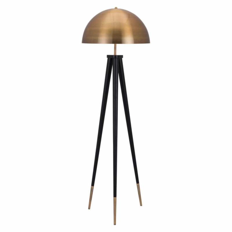 Jema Gold Dome Floor Lamp 4