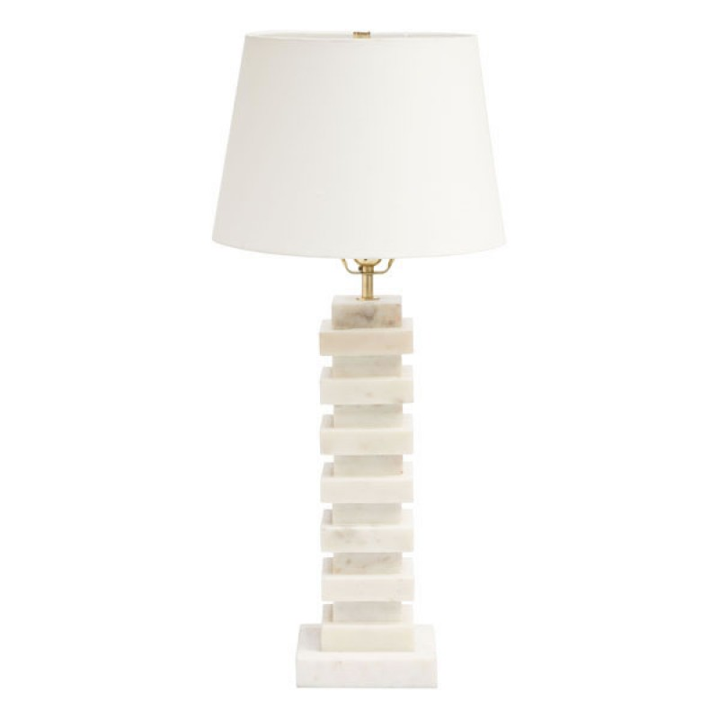 Marble Stack Table Lamp 2