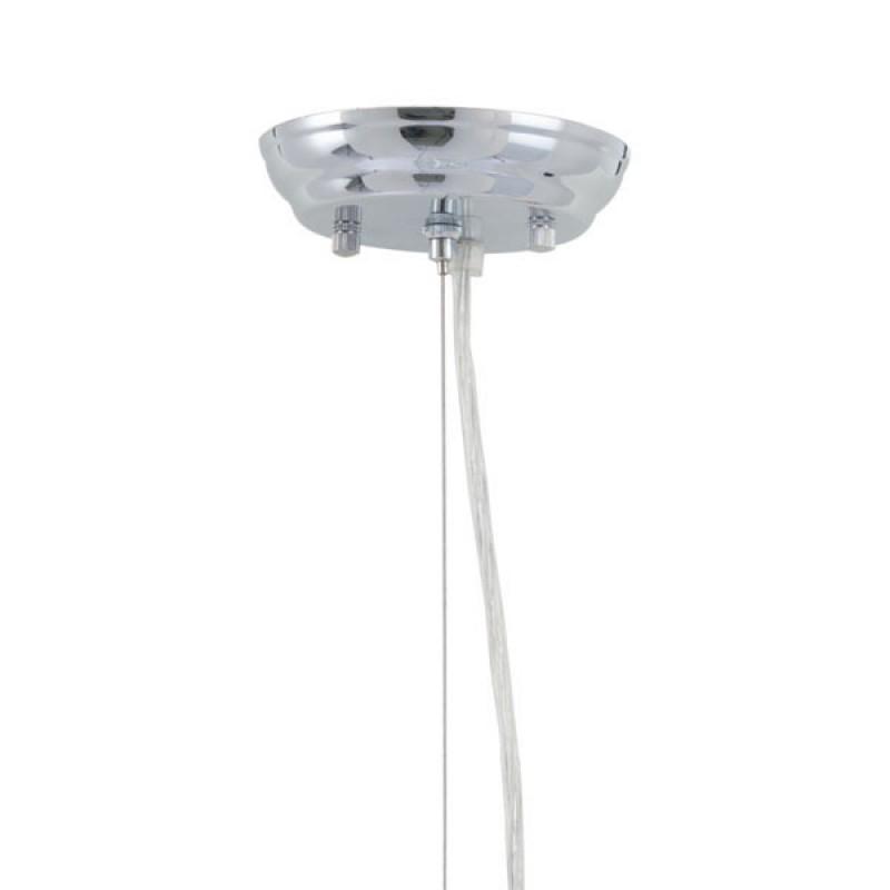 Mod Sphere Silver Chandelier 6