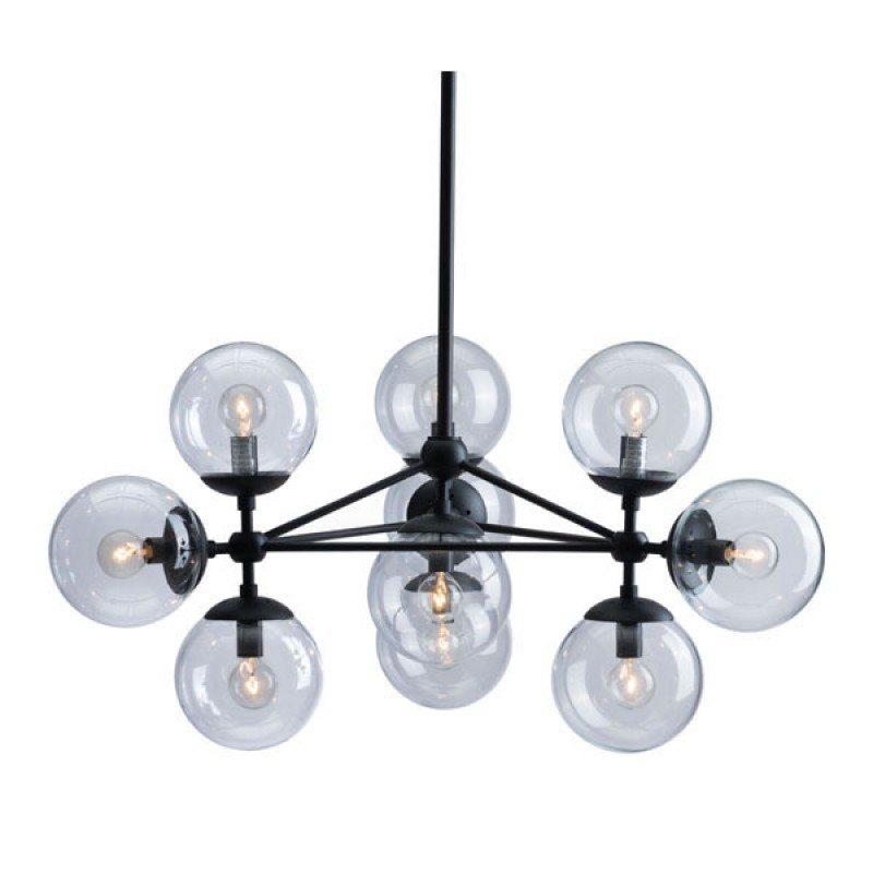Sphere Mid Century Large Chandelier 3
