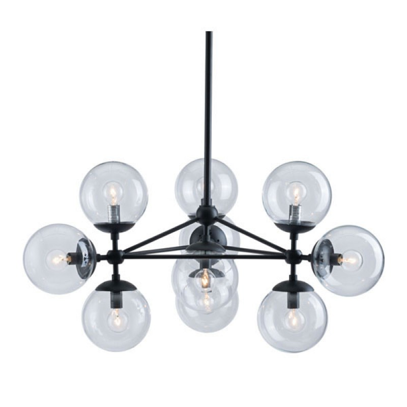 Sphere Mid Century Large Chandelier 4
