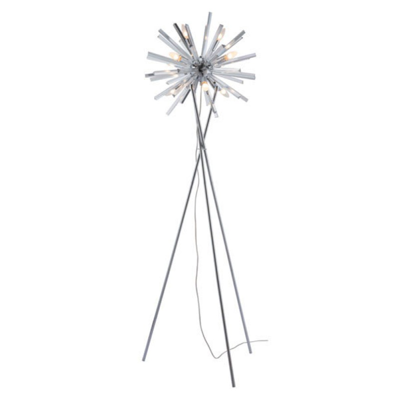 Sputnik Chrome Floor Lamp 2