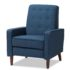 chronicle accent chair blue