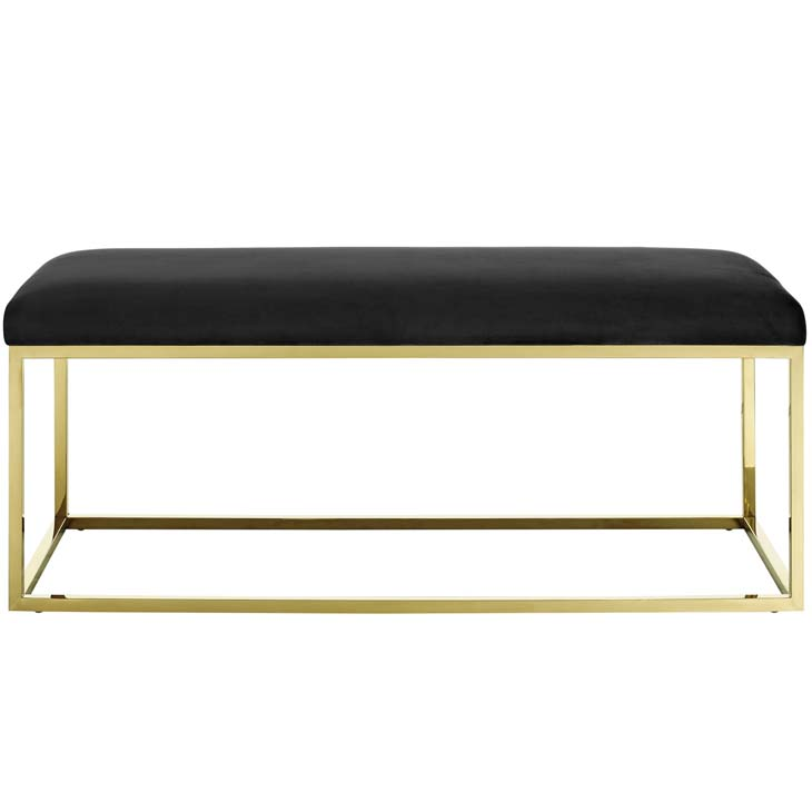 metallic gold bench gold black 3