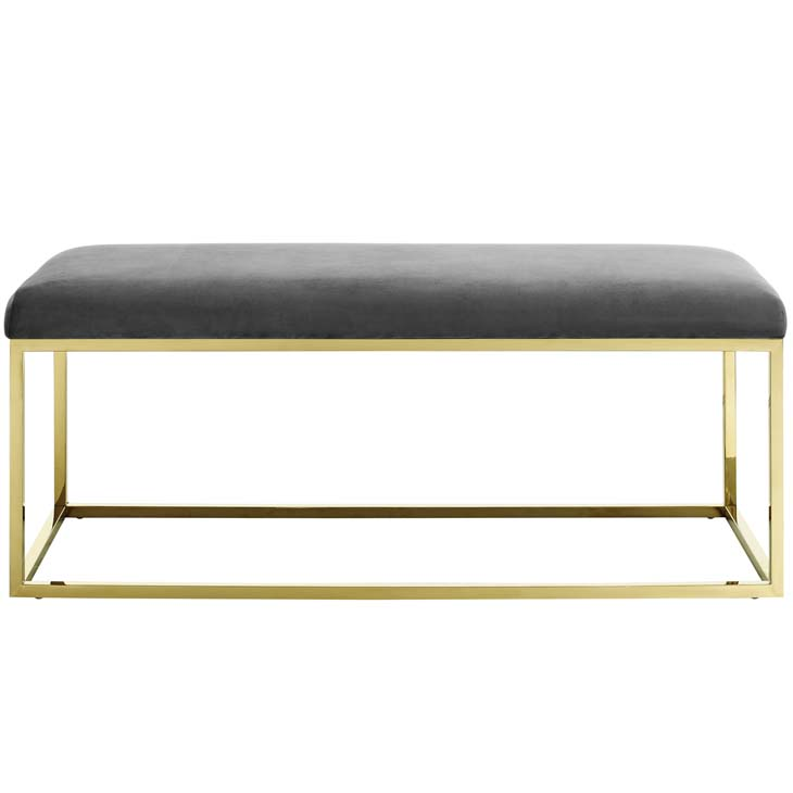 metallic gold bench gold gray 3