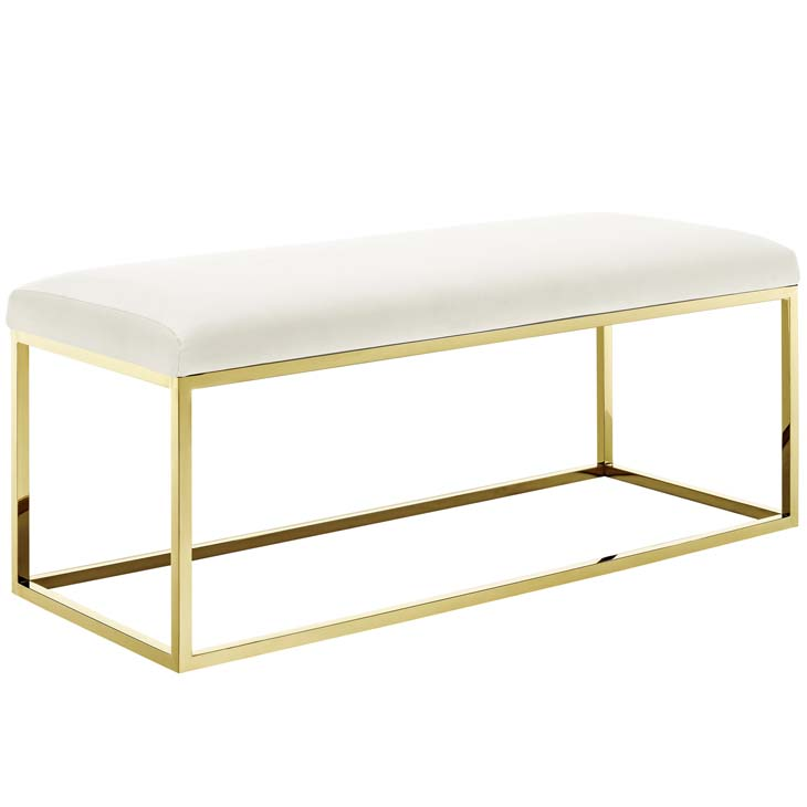 metallic gold bench gold ivory 1