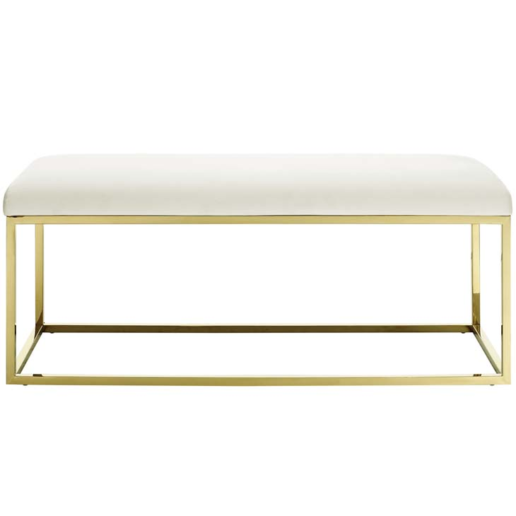 metallic gold bench gold ivory 3