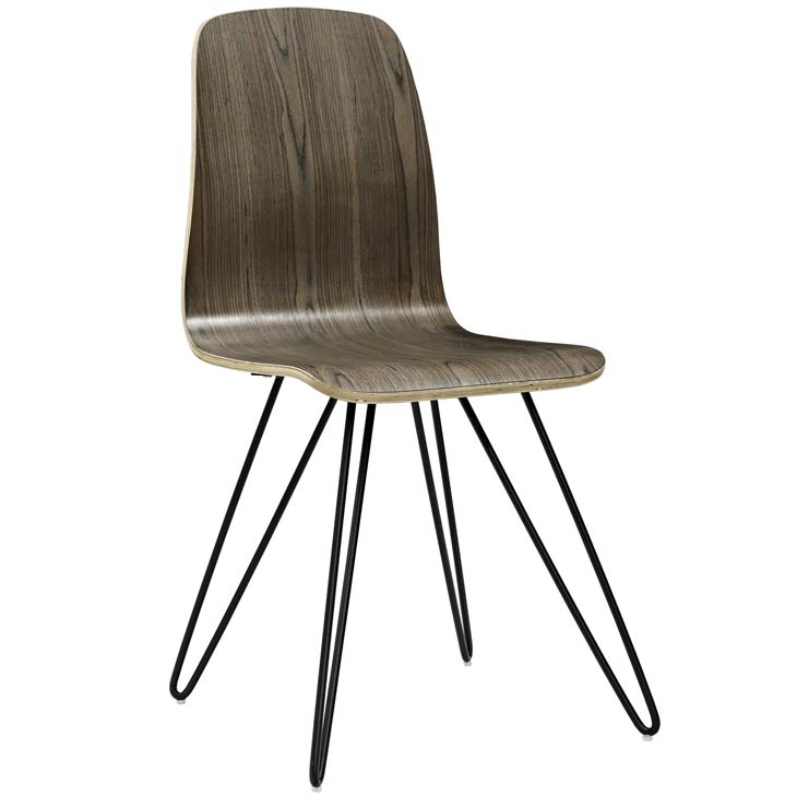 wood pin chair walnut wood 1