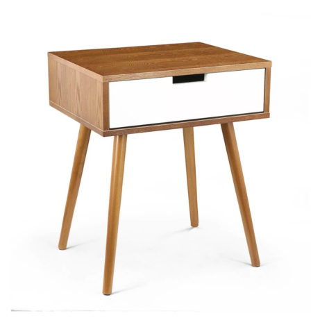 Wood White Box Side Table 1 1 461x461