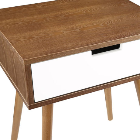 Wood White Box Side Table 2 1 461x461
