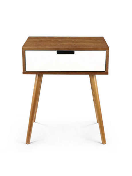 Wood White Box Side Table 461x615