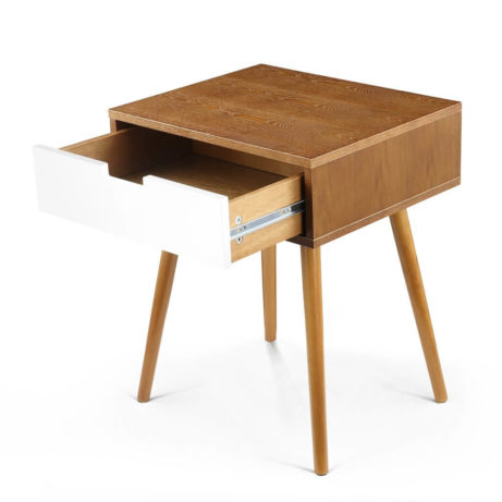 Wood White Box Side Table 5 461x461