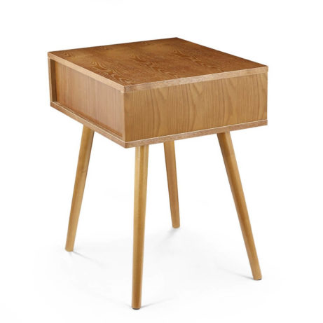 Wood White Box Side Table 7 461x461
