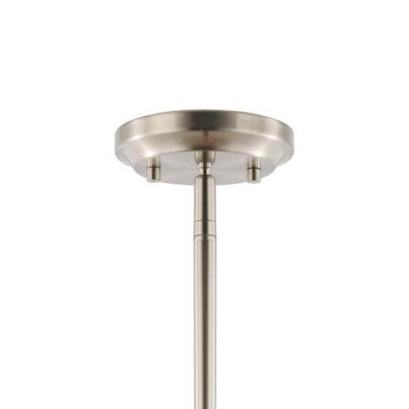 crisp glass silver metal chandelier 6 461x461