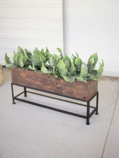 Recyle Wood Planter Box 3 237x315