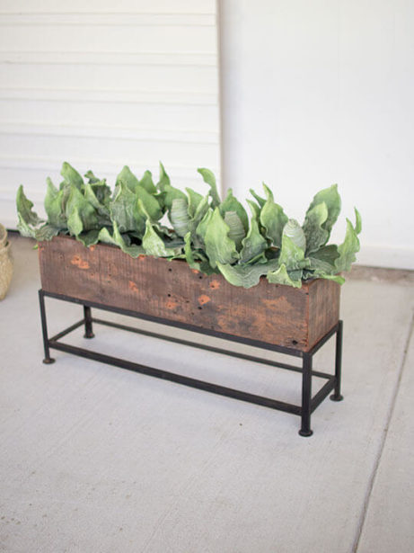 Recyle Wood Planter Box 3 461x615