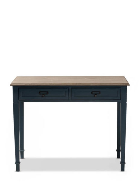 Blue Wood Accent Table 1 461x615