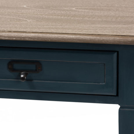 Blue Wood Accent Table 5 461x461