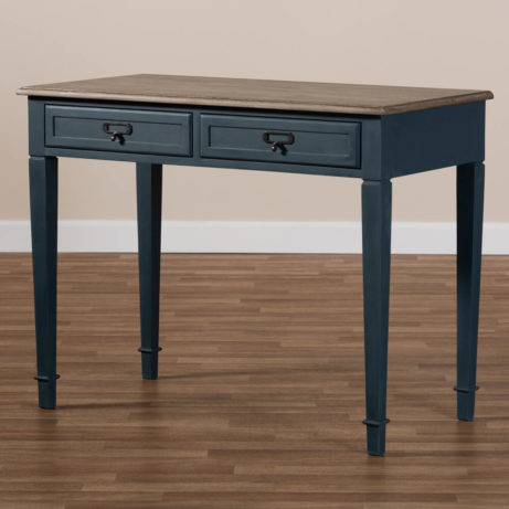 Blue Wood Accent Table 7 461x461