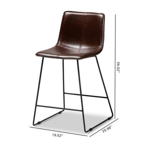 Capital Leather Bartstool 5 461x461