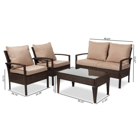 HillCrest Outdoor Furniture Set 4 461x461
