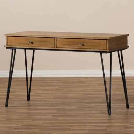 Natural Wood Writing Desk 8 461x461