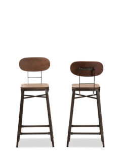 Workroom Wood Metal Barstool 1 237x315