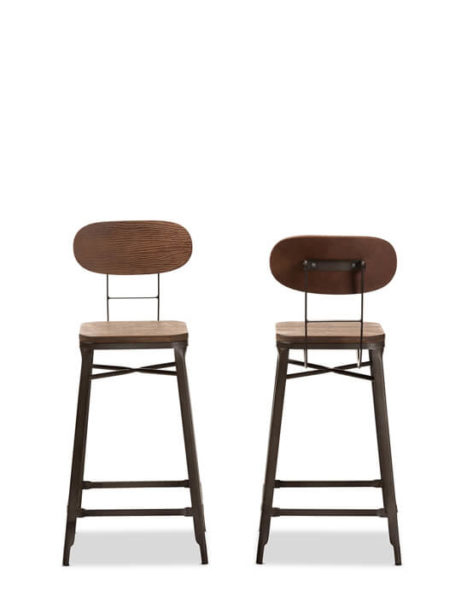 Workroom Wood Metal Barstool 1 461x615