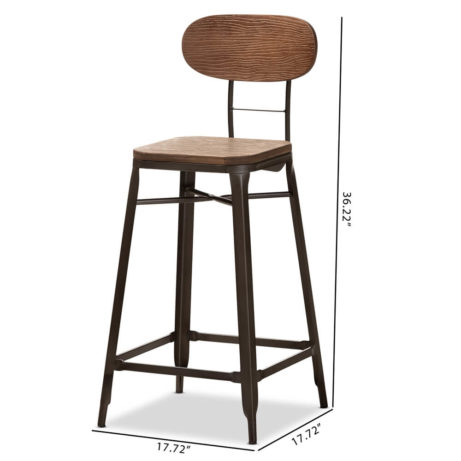 Workroom Wood Metal Barstool 6 461x461