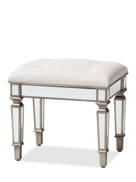 Mirror Hollywood Regency Stool 1 461x615