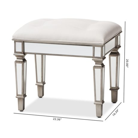 Mirror Hollywood Regency Stool 2 461x461
