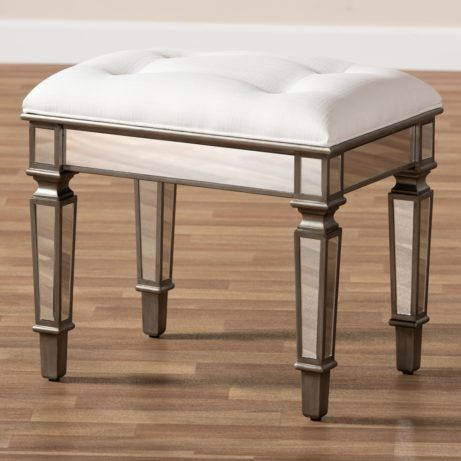 Mirror Hollywood Regency Stool 7 461x461