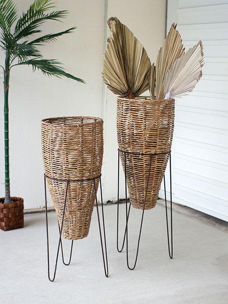 Seagrass Basket planters 461x614